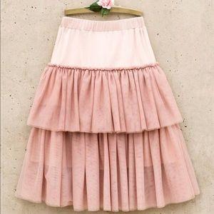 Joyfolie Blush Edita Skirt NWT